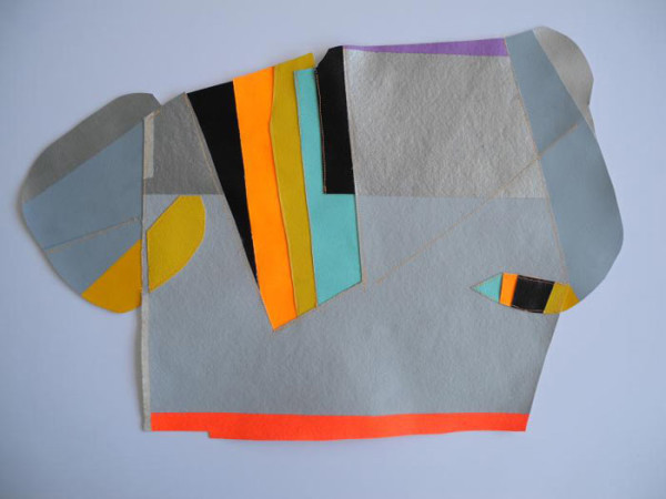 Patchwork Assemblages by Claudia Vivero in main art  Category