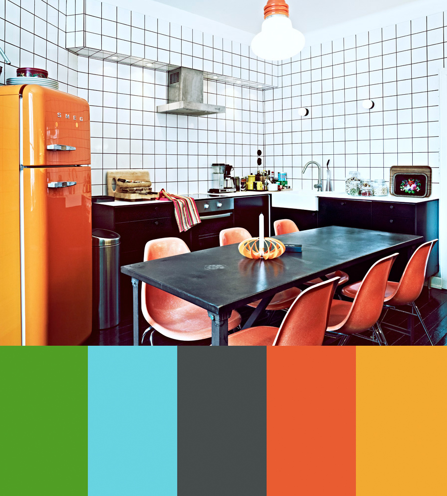 Jonas Ingerstedt's Colorful Interior Photos