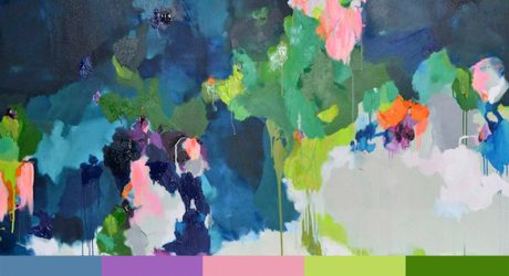 Laelie Berzon's Passionate Abstract Paintings