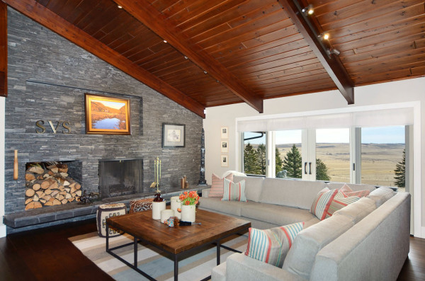 Contemporary Ranch Interior Design by Johnson & Associates in main interior design  Category