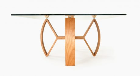 Crossbow Table by Nathan Day Design
