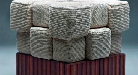 Creative Furniture Made of Yarn and Thread