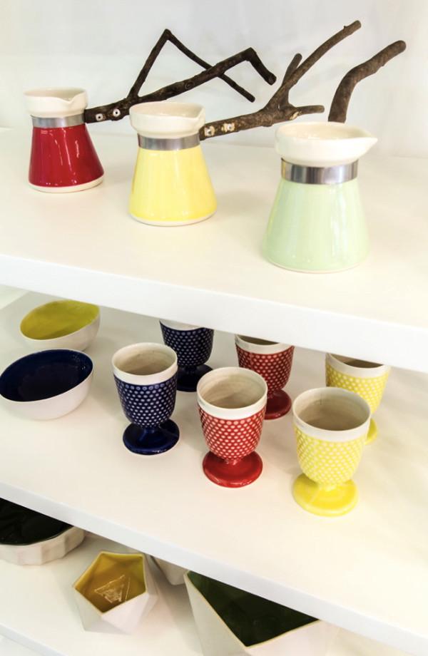 Coffee pots by Santimetre