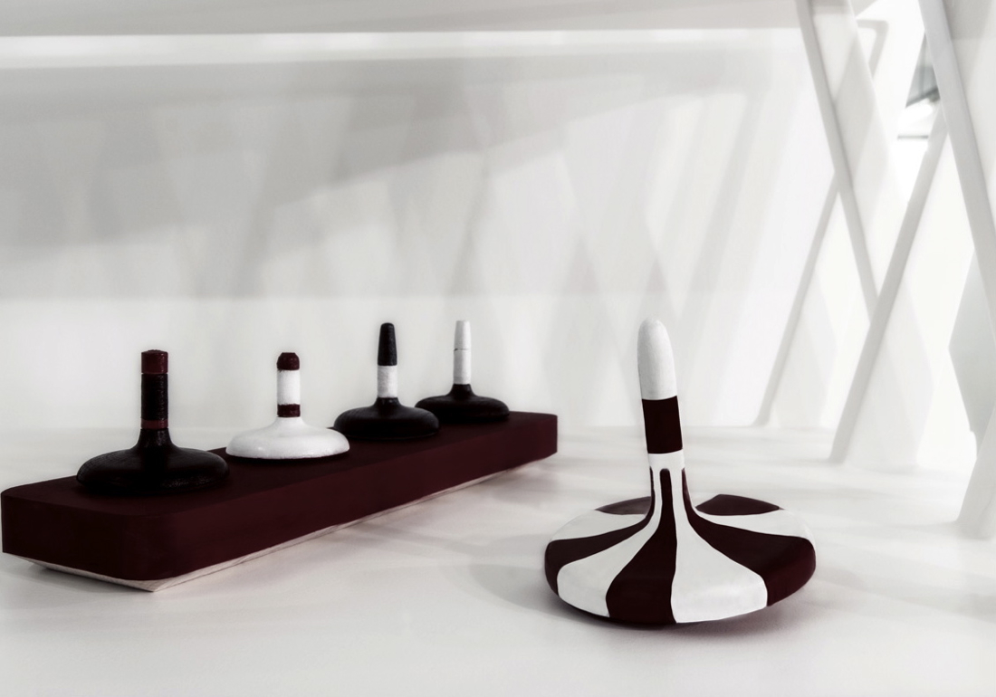 Spin Tops by White sur White