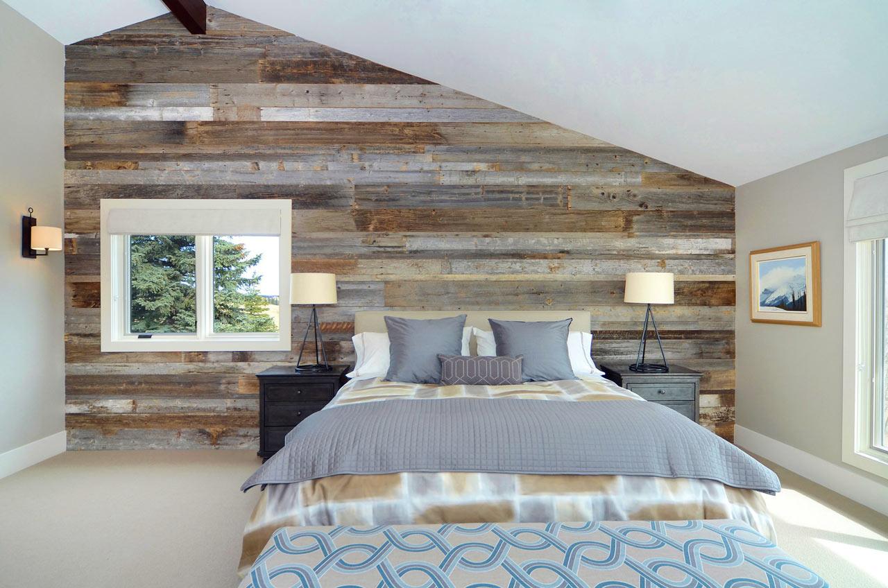 dramatic-wodd-wall-headboard-rustic-modern