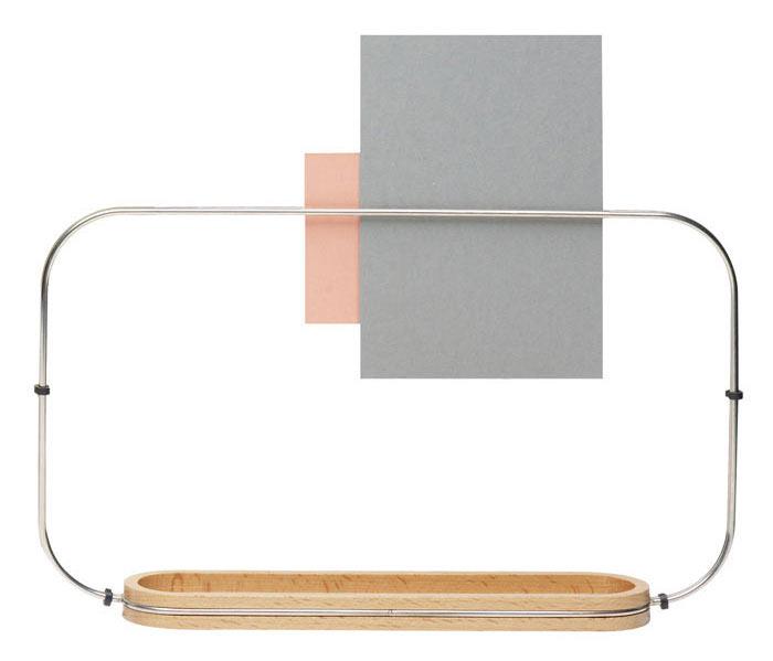 Modern Wood + Metal Desk Accessory
