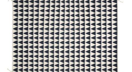 Geometric Flag Rug