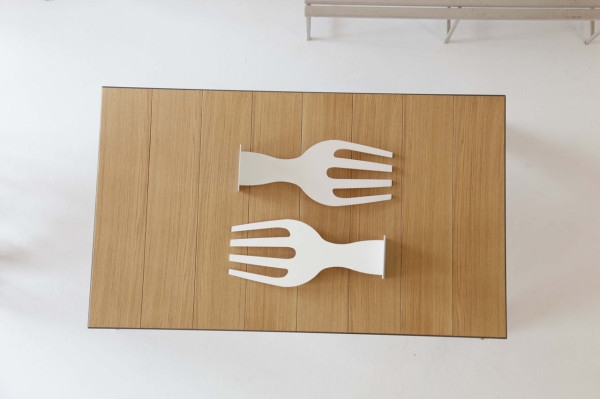Superior Lets Eat Dining Table Fork Supports Amazing Design