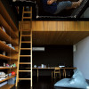 modern-bedroom-suspended-loft-ladder