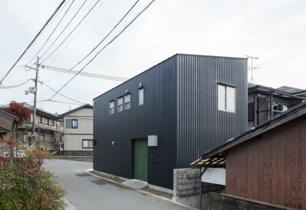 A Narrow House Filled With Plywood by YYAA in main architecture  Category