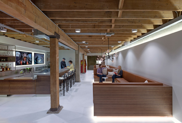 Giant Pixel Office by Studio O+A in main interior design architecture  Category