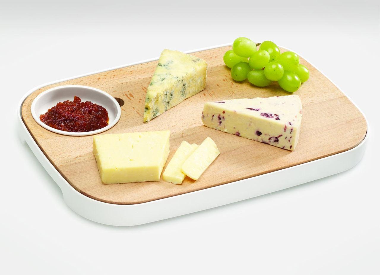 Slice & Serve Cheese Board