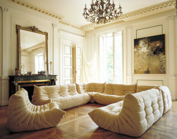 40 years of togo and still going strong design milk - Housse togo ligne roset ...