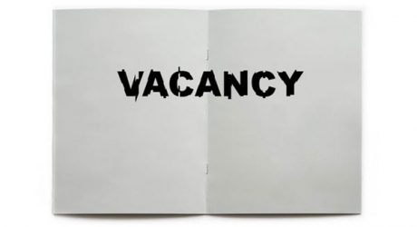 Fresh From The Dairy: Apply for Vacancy Zine