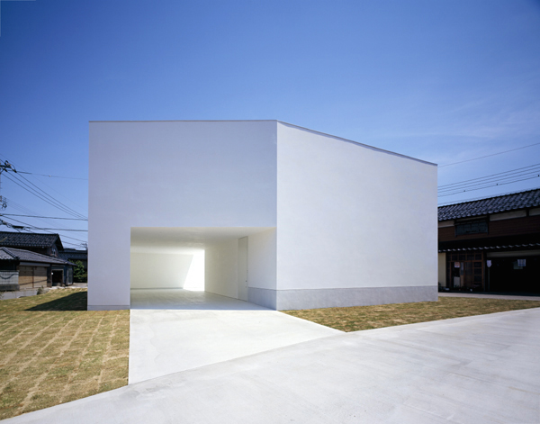White Cave House by Takuro Yamamoto Architects in main architecture  Category