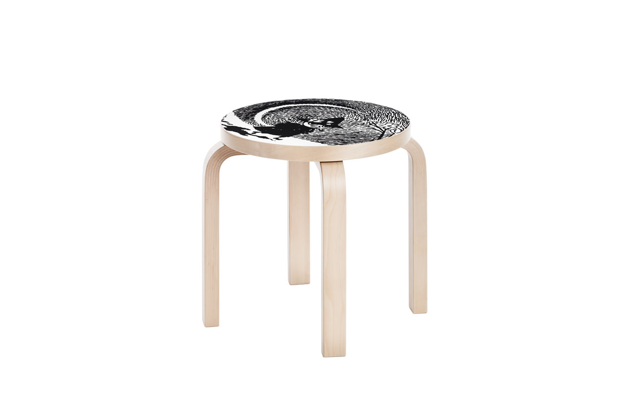 Artek_Moomin_collection-10-stool_NE60_Snufkin