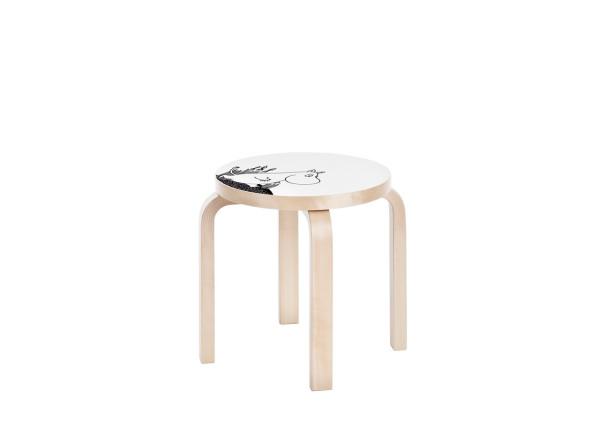 Artek_Moomin_collection-5-stool_NE60_Moomintroll