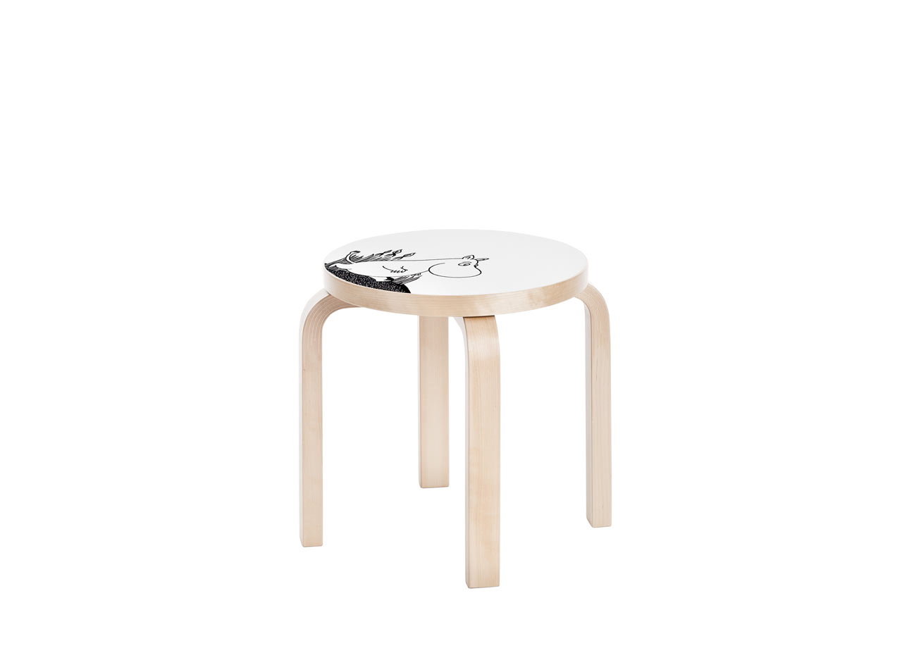 Artek_Moomin_collection-5-stool_NE60_Moomintroll