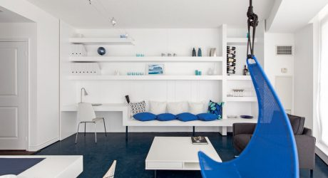 Blue Pie: A Toronto Condo Transformation