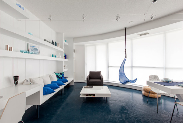 Blue Pie: A Toronto Condo Transformation in main interior design architecture  Category