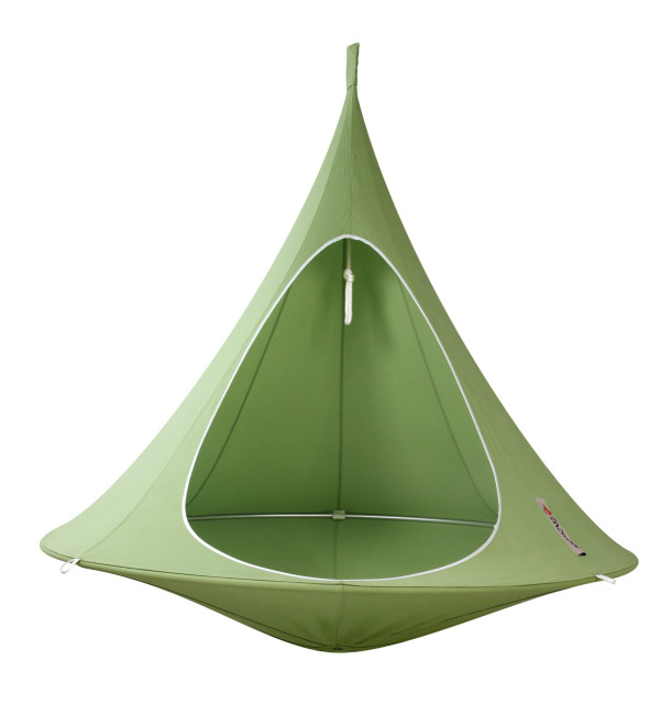 cacoon hanging chair - design milk