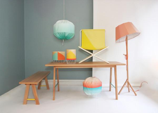 Vibrant furniture - Magazine cover