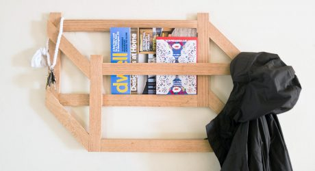 Make it Modern: DIY 3D Trompe l'oeil Coat Rack
