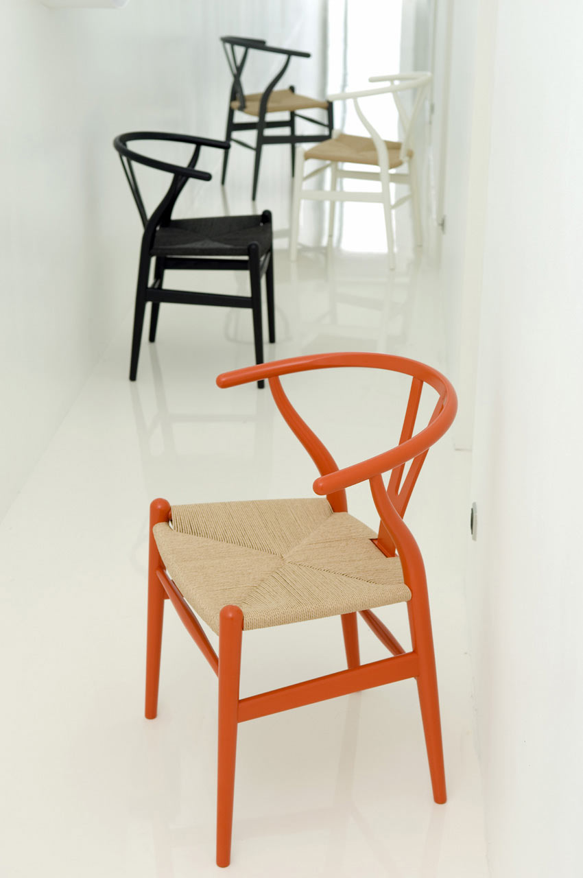 Wishbone chair by hans j wegner for carl hansen søn