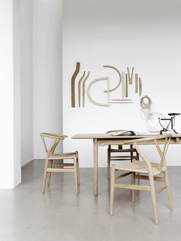 Wishbone Chair by Hans J Wegner for Carl Hansen Sn Design Milk