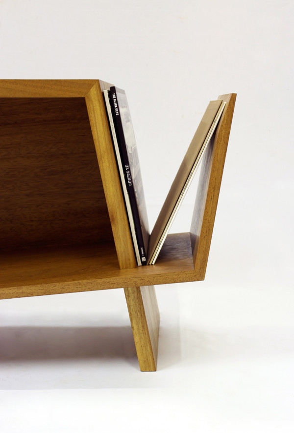 Folded Record Bureau by HM HandMade in technology main home furnishings  Category