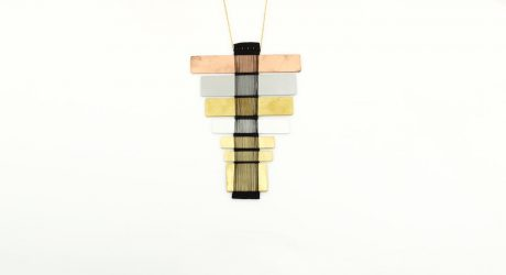 Hand Woven Necklaces by Michal Taharlev