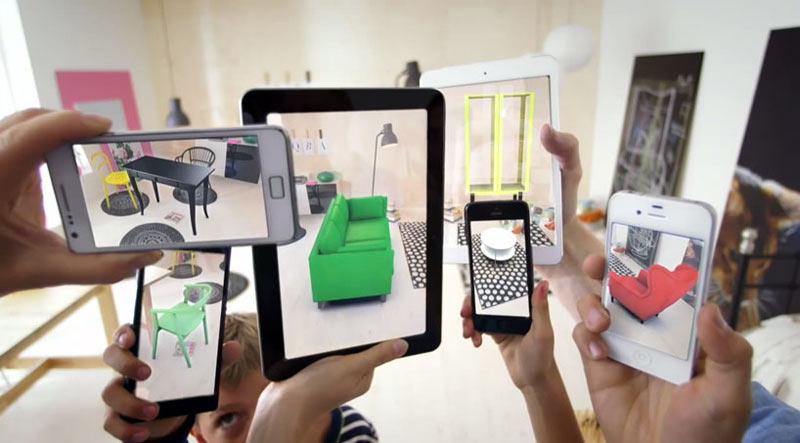 Test Drive IKEA Furniture With Augmented Reality App - Design Milk