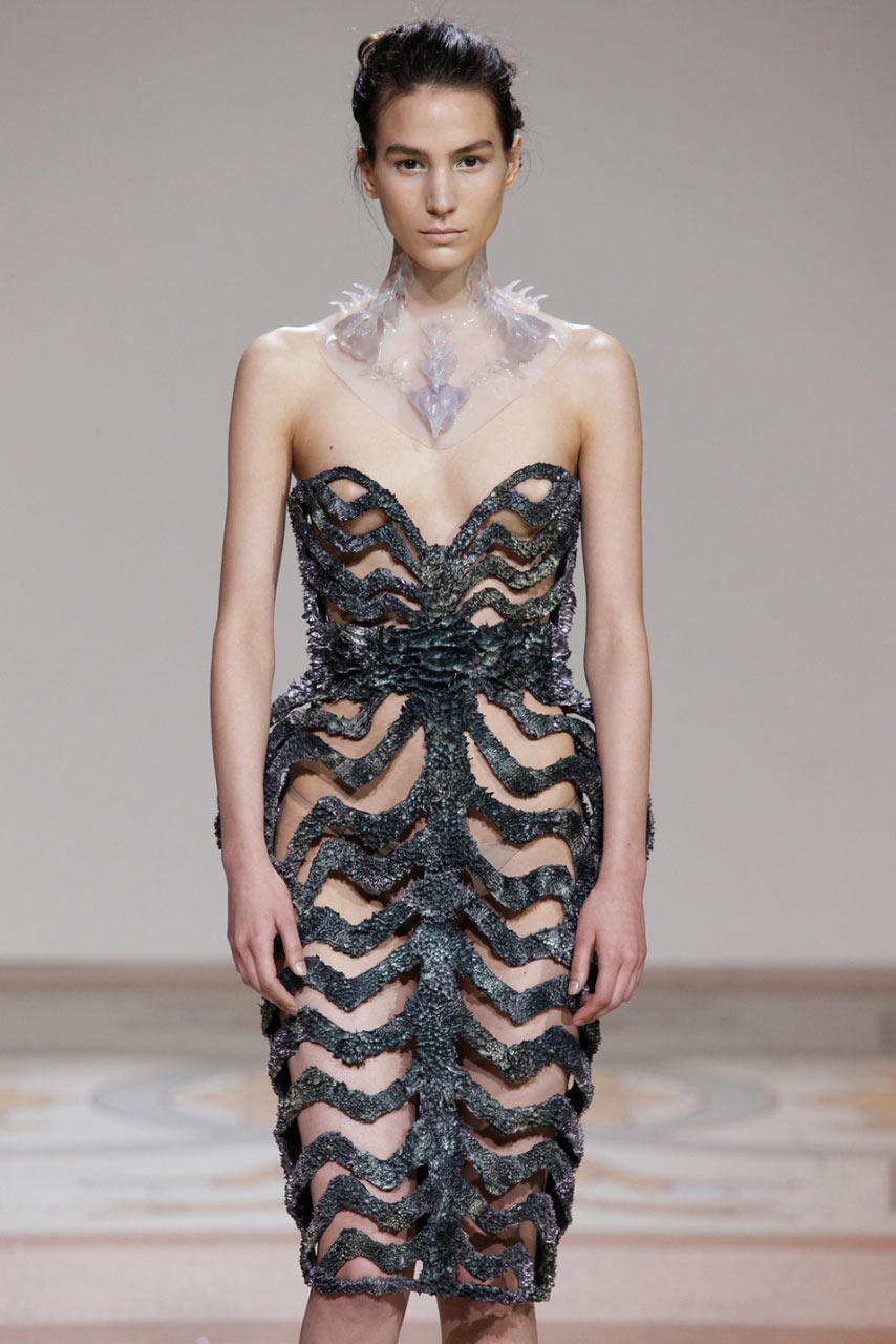 Dresses Grown with Magnets