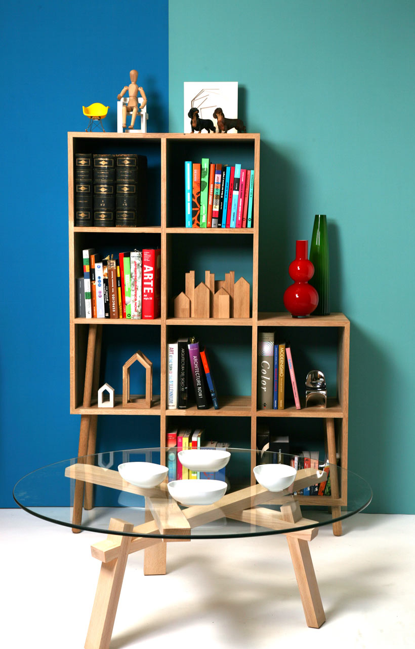 LivingBlock-MadLab-3-Bookcase-and-TreeTable-