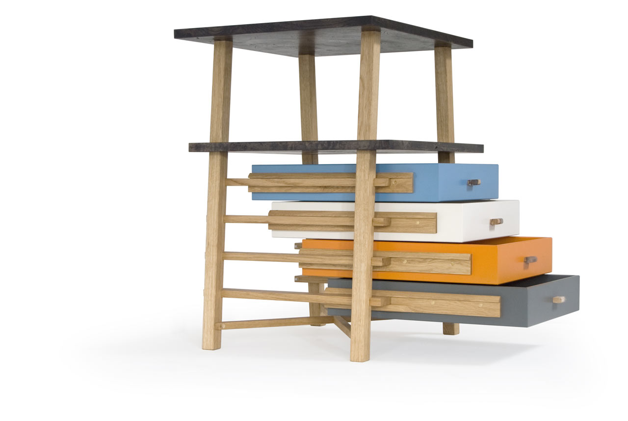 Parity Pedestal Set of Drawers by Gareth Batowski