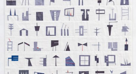 Shape Study Quilts by Erin Wilson