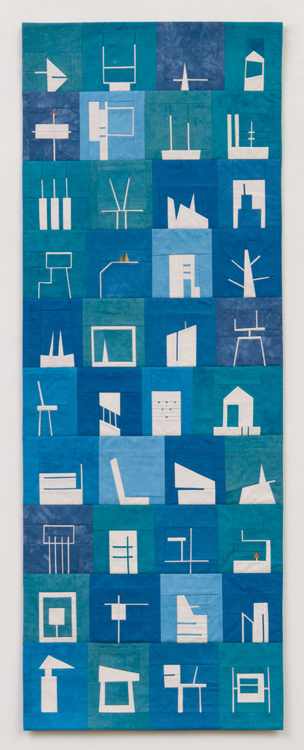 Shape Study Quilts by Erin Wilson in main home furnishings art  Category