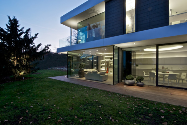 Villa Malvazinky by Martin Sladky of de.fakto in main architecture  Category