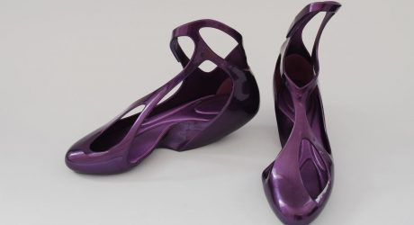 Melissa + Zaha Hadid = Cool Plastic Footwear