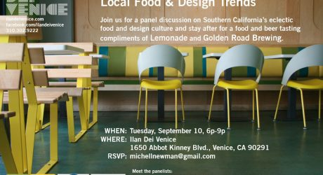 Talking Food + Design in LA