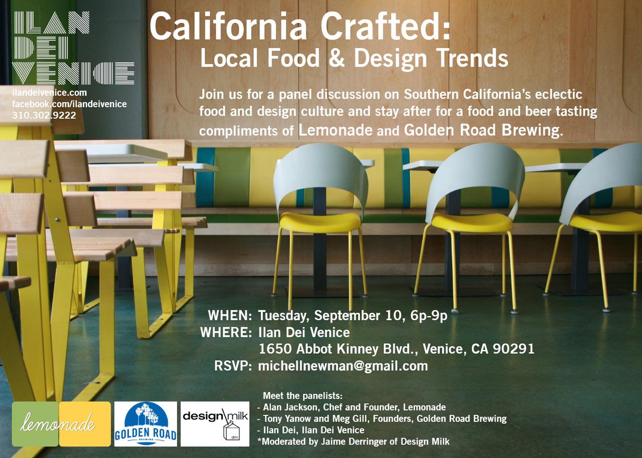 Talking Food + Design in LA