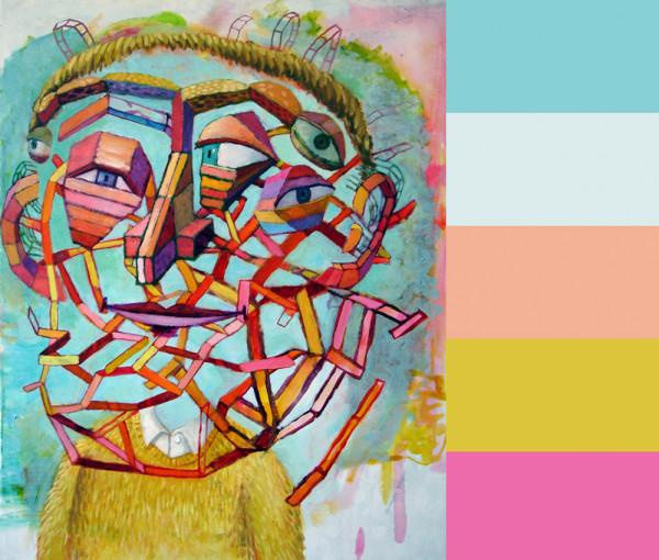 The Optimist, 2011, oil on canvas