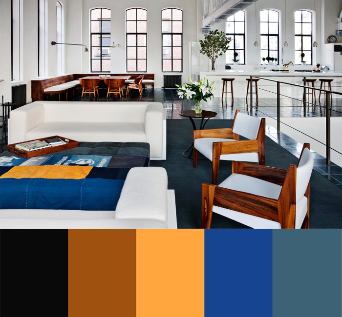 Selldorf Architects Color-Punctuated Rooms