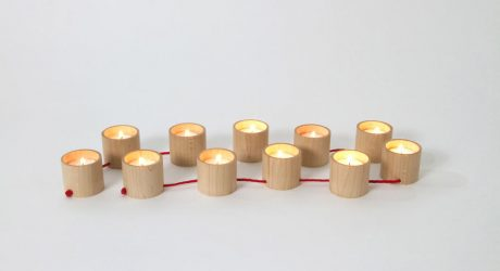String It Along: Lys Candelabra by Matte Berit Nyberg