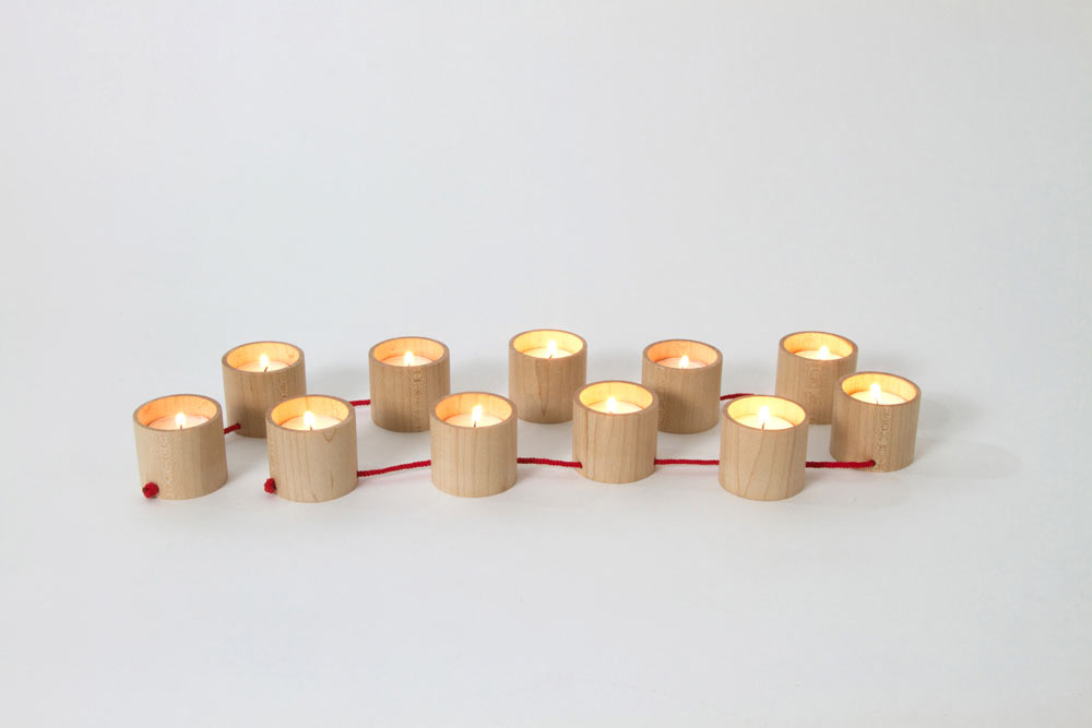 String It Along: Lys Candelabra by Matte Berit Nyberg