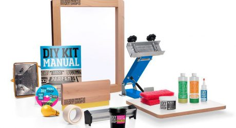 DIY Print Shop Screen Printing Kit Giveaway