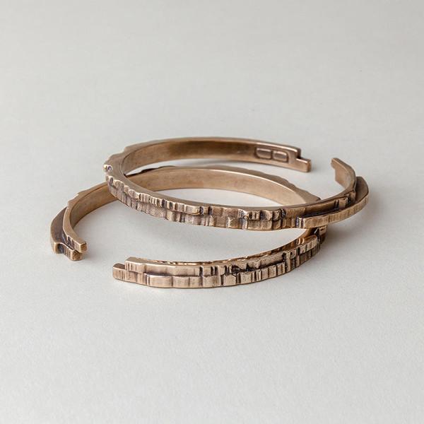 fitzgerald-forbes-Cast-Natural-Grain-2-bracelet