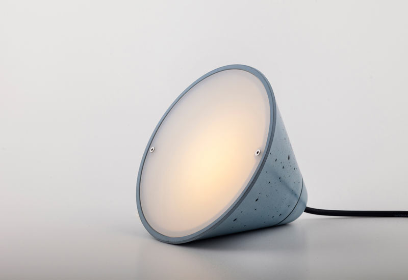 Concrete Lamps by Itai Bar-On & Oded Webman