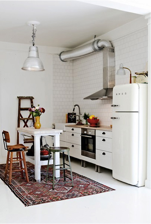 Fancy kilim kitchen island elle interior sweden