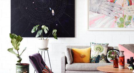 Artist Kirra Jamison at Home